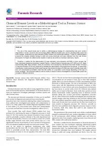 Forensic Research - OMICS International