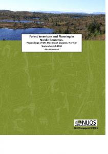 Forest Inventory and Planning in Nordic Countries.