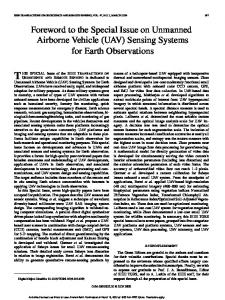 Foreword to the Special Issue on Unmanned Airborne ... - Quantalab