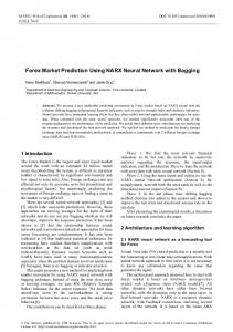 Forex Market Prediction Using NARX Neural Network with Bagging