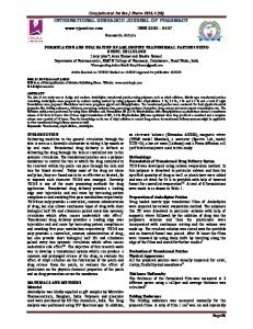 formulation and evaluation of amlodipine transdermal patches using ...