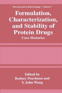 Formulation, Characterization, and Stability of Protein ...