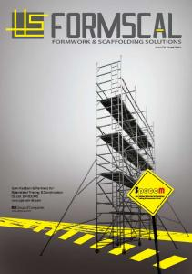 FORMWORK & SCAFFOLDING SOLUTIONS - Formscal