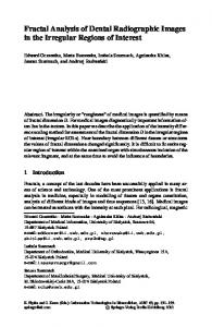Fractal Analysis of Dental Radiographic Images in the Irregular ...