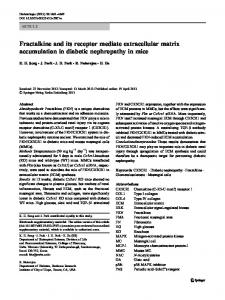 Fractalkine and its receptor mediate extracellular ... - Springer Link