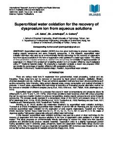 Fractional factorial design for the optimization of hydrothermal ...