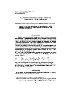 FRACTIONAL OSTROWSKI INEQUALITIES FOR s-GODUNOVA ...