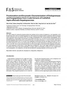 Fractionation and Enzymatic Characterization of ... - E-FAS