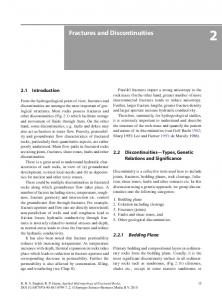Fractures and Discontinuities - Springer