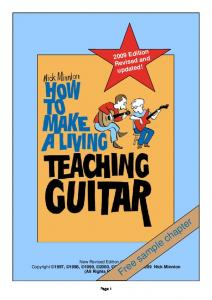 Free sample chapter - TeachGuitar.com