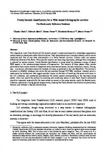 Freely faceted classification for a Web-based bibliographic archive