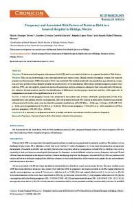 Frequency and Associated Risk Factors of Preterm Birth ... - ECronicon