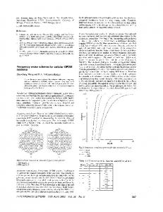 Frequency reuse scheme for cellular OFDM systems - IEEE Xplore