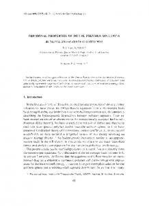 FRICTIONAL PROPERTIES OF DILUTE POLYMER SOLUTIONS ...