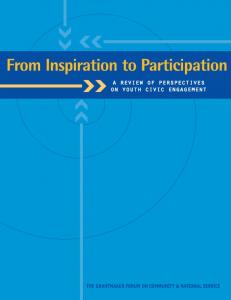 From Inspiration to Participation - pace - philanthropy for active civic ...