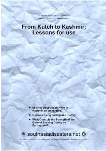 From Kutch to Kashmir