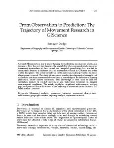 From Observation to Prediction: The Trajectory of ... - WordPress.com