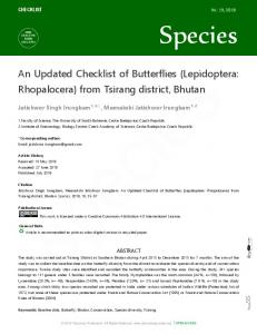 from Tsirang district, Bhutan - DISCOVERY | Scientific Society