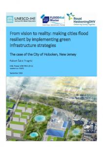 From vision to reality: making cities flood resilient by