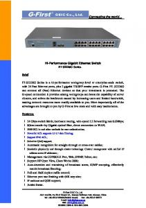 FT-S2226G Technical Specifications