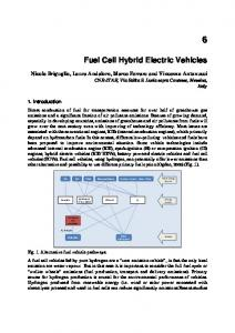 Fuel Cell Hybrid Electric Vehicles