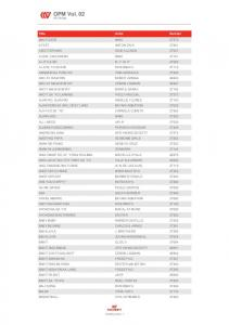 full songlist click here