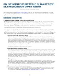 Full Supplementary Rules (pre-fall 2009)