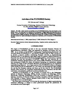 Full Text, PDF - Superconductivity News Forum