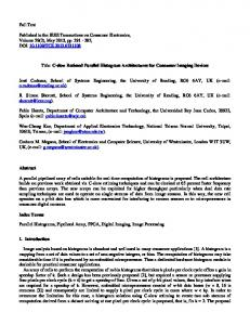 Full Text Published in the IEEE Transactions on Consumer Electronics ...