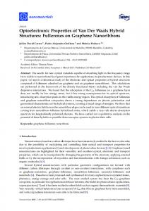 Fullerenes on Graphene Nanoribbons - MDPI