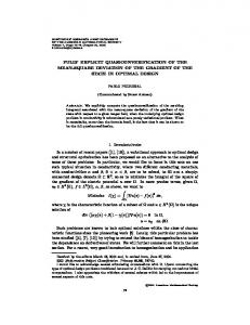 FULLY EXPLICIT QUASICONVEXIFICATION OF THE MEAN-SQUARE ...