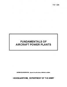 FUNDAMENTALS OF AIRCRAFT POWER PLANTS - JoesPiper