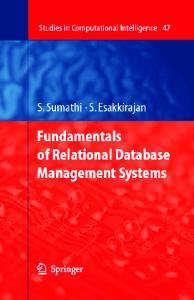 Fundamentals of Relational Database Management Systems (2007).