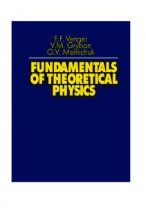 Fundamentals of Theoretical Physics.pdf