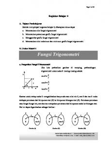 Fungsi Trigonometri - WordPress.com