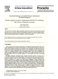Fuzzy cognitive map for optimizing solutions for ... - CyberLeninka