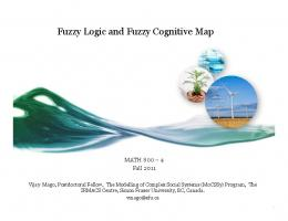 Fuzzy Logic and Fuzzy Cognitive Map