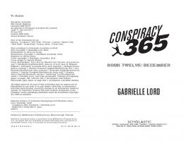 GABRIELLE LORD - Conspiracy 365