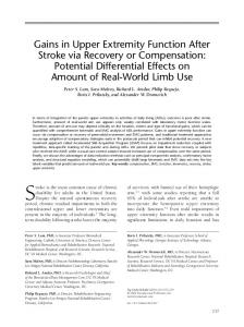 Gains in Upper Extremity Function After Stroke via ... - Semantic Scholar