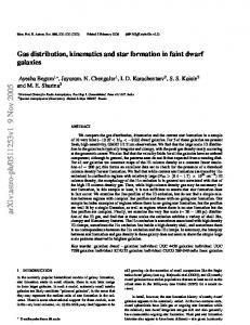 Gas distribution, kinematics and star formation in faint dwarf galaxies