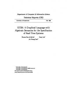 GCSR: A Graphical Language with Algebraic ...