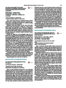 Gene variants of the dopaminergic system are associated with non ...