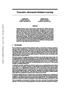 Generative Adversarial Imitation Learning