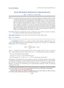 Generic Half-Quadratic Optimization for Image ... - Creatis - INSA Lyon