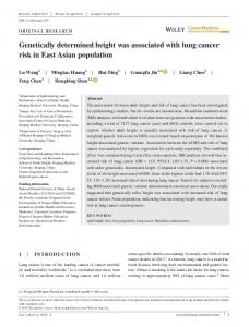 Genetically determined height was associated ... - Wiley Online Library