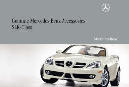 Genuine Mercedes-Benz Accessories SLK-Class