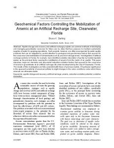 Geochemical Factors Controlling the ... - Wiley Online Library