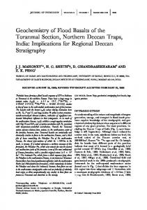 Geochemistry of Flood Basalts of the Toranmal ... - Oxford Journals