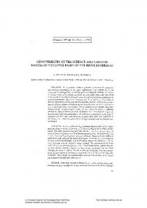 Geochemistry of the surface and ground waters of ... - Revista Pirineos