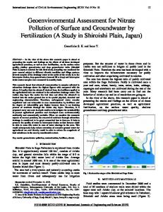 Geoenvironmental Assessment for Nitrate ... - IDC Technologies